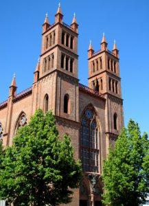 Die Friedrichswerdersche Kirche öffnet ihre Pforten.