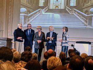 Der Schlüssel für die Staatsbibliothek zu Berlin im Haus Unter den Linden ist übergeben worden.