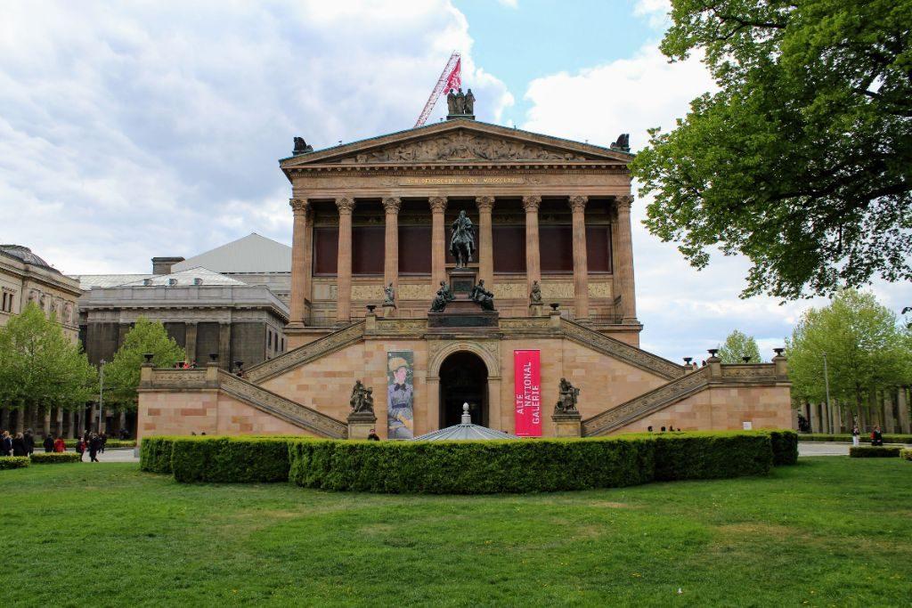 Die Alte Nationalgalerie auf der Museumsinsel.
