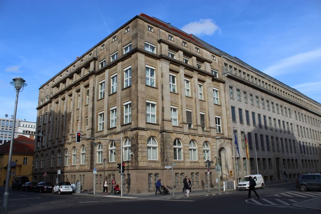 Ein Dienstgebäude des Bundesgesundheitsministeriums in der Mohrenstraße.