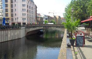 Die Roßstraßenbrücke muss saniert werden.