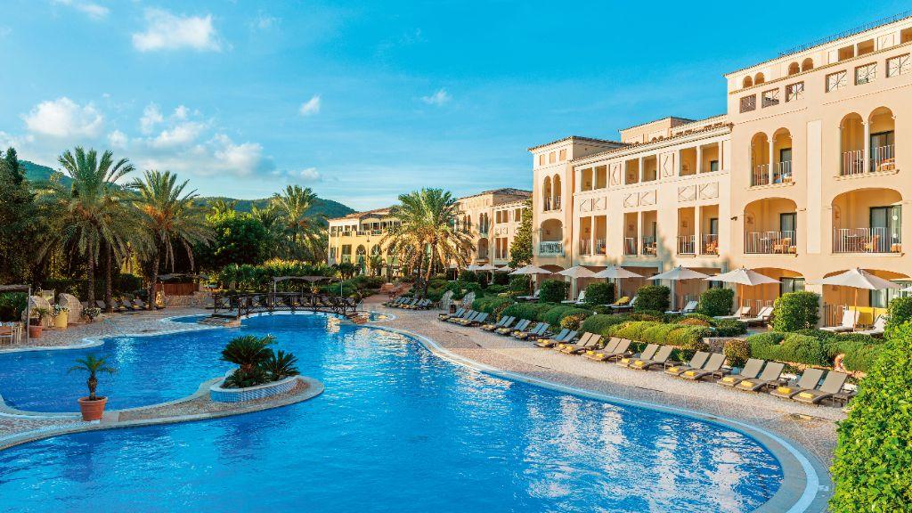 Mit Pool, Wellness und Golfplatz: das Steigenberger Hotel & Resort Camp de Mar.