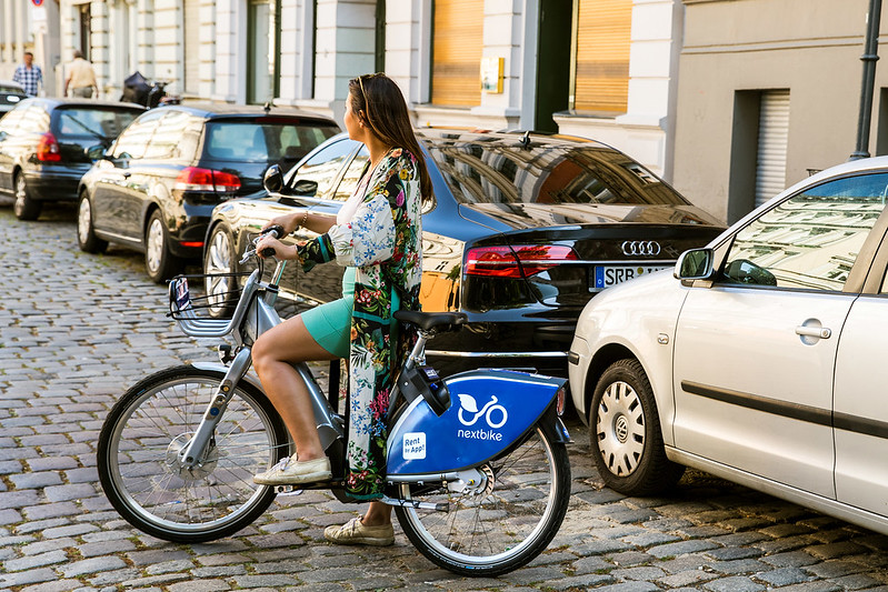Radfahren hält fit und gesund.