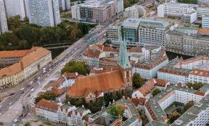 Die Nikolaikirche wird jetzt saniert.