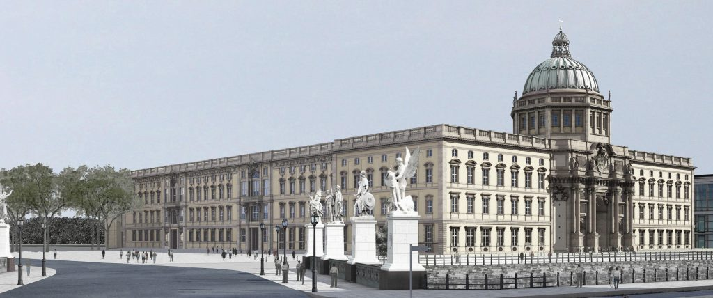 Projekt der neuen Zwanziger: Das Berliner Schloss.