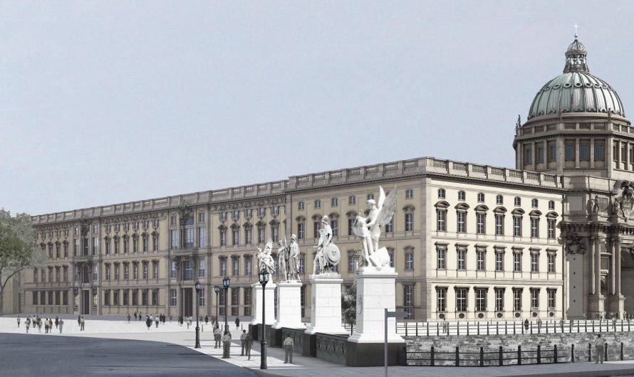 Berliner Schloss: Kuppel fast fertig
