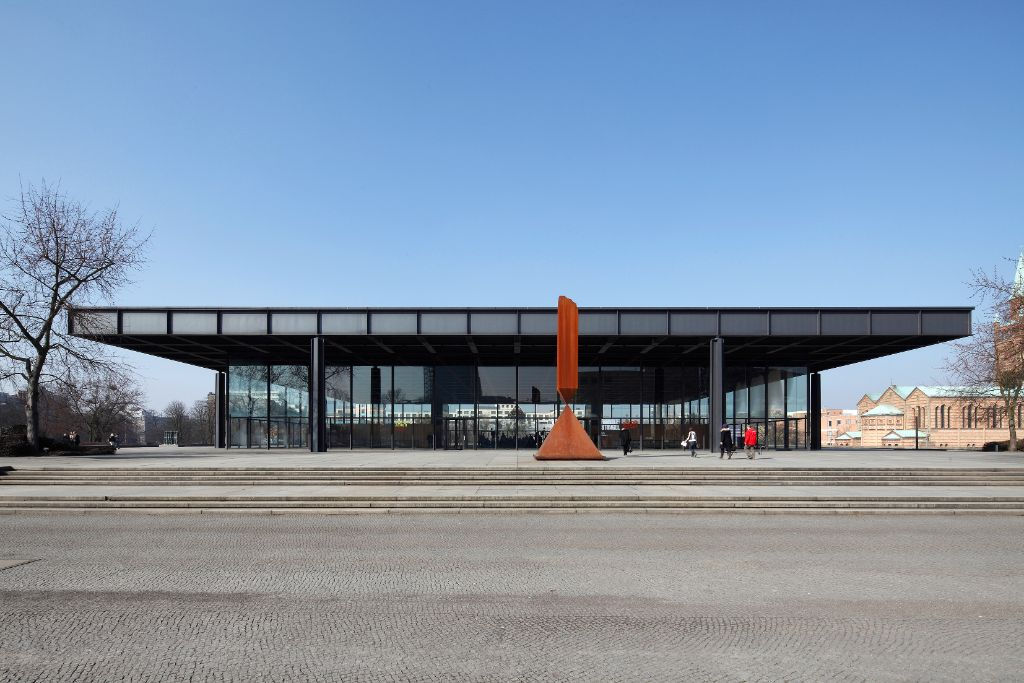 Die Neue Nationalgalerie am Kulturforum. Staatliche Museen zu Berlin / Maximilian Meisse