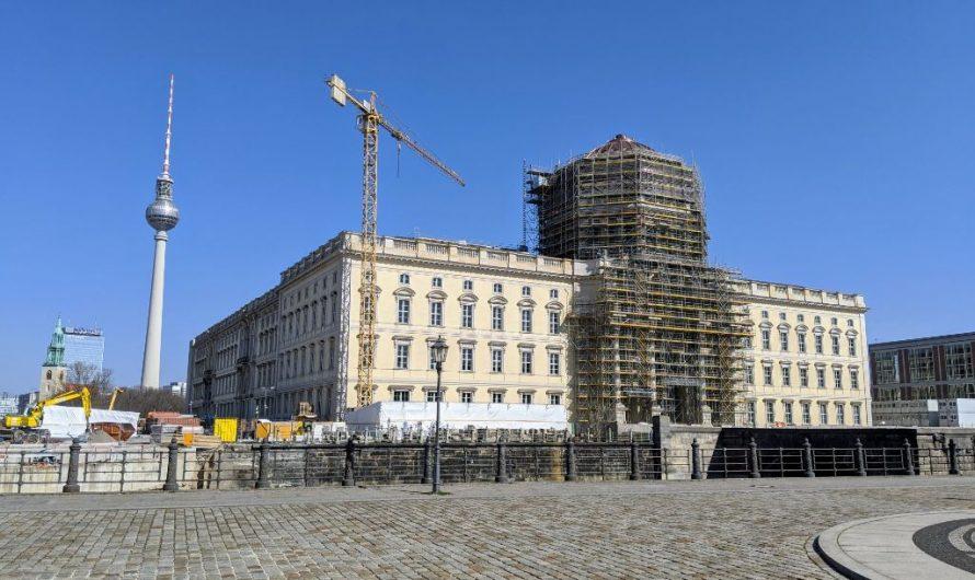 Brand im Berliner Schloss schnell gelöscht