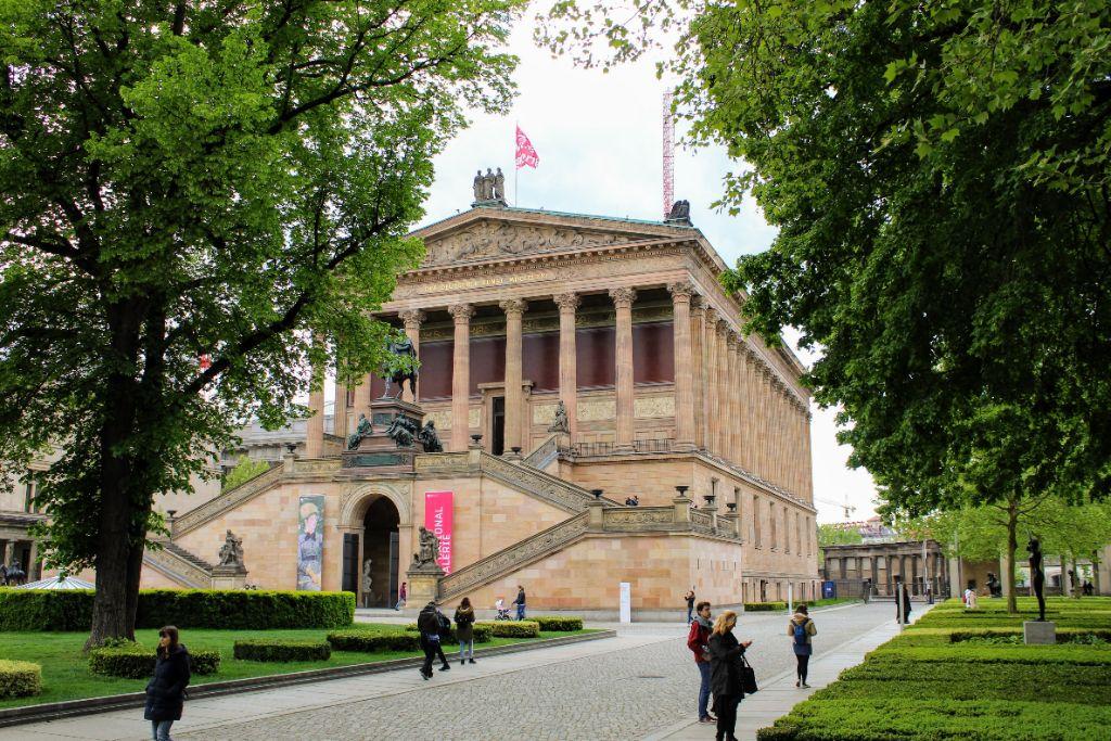 Zu den wiedereröffneten Museen gehört die Alte Nationalgalerie.