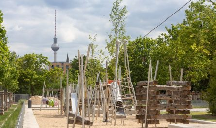 Spielplatz Mauerpark-Erweiterung