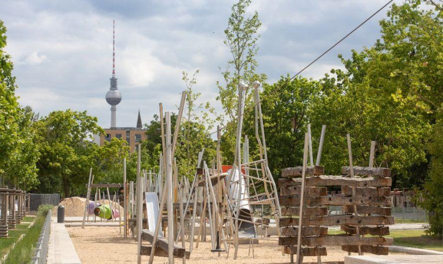 Mauerpark mit mehr Grün für Berlin