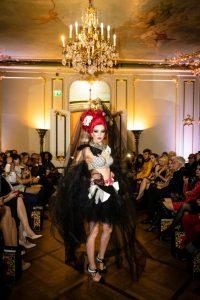 Auch Harald Glööckler präsentierte regelmäßig seine Modekreationen in der Hauptstadt.