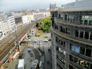 Gleisarbeiten zwischen im Bereich S-Bahnhof Hackescher Markt und Henriette-Herz-Platz