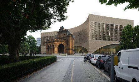 Siegerentwurf für das neue Exilmuseum.