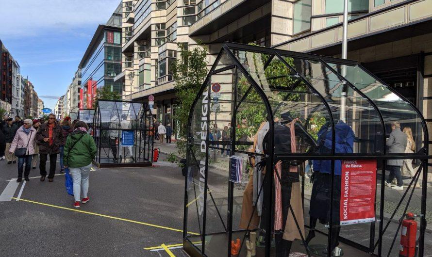 Verkehrsversuch Friedrichstraße startet kontrovers