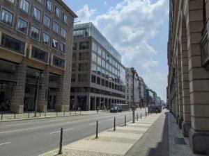 Der Verkehrsversuch soll die Friedrichstraße attraktiver machen.