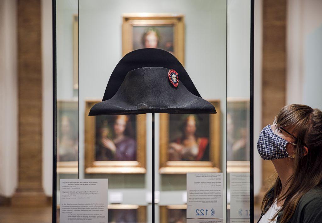 Napoleons Hut im Zeughaus..