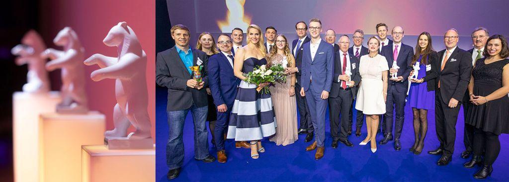 Die Gewinner beim Handelskongress 2019.