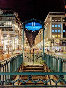 Der U-Bahnhof Französische Straße wird geschlossen.