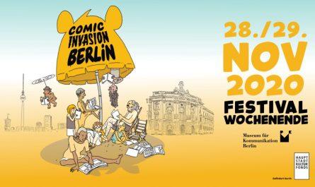 Die COMICINVASION BERLIN findet virtuell statt aus dem Museum für Kommunikation.