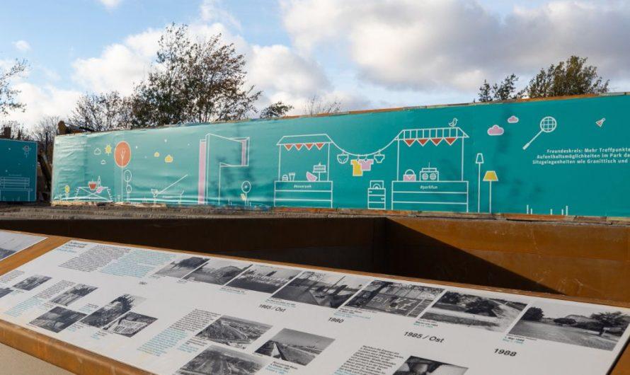 Neuer Eingangsbereich für den Mauerpark