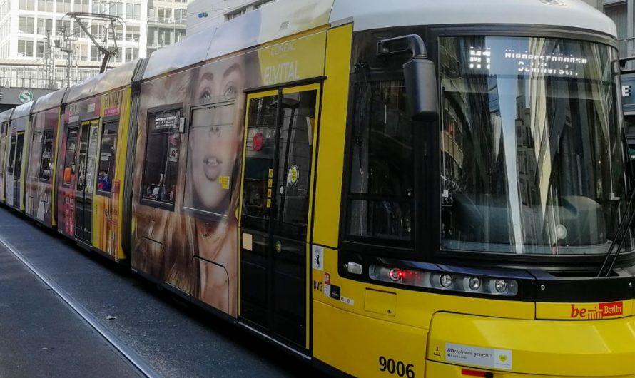 Baugenehmigung für Straßenbahnausbau in Mitte