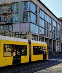 Der Straßenbahnausbau soll bis zur Turmstraße führen.