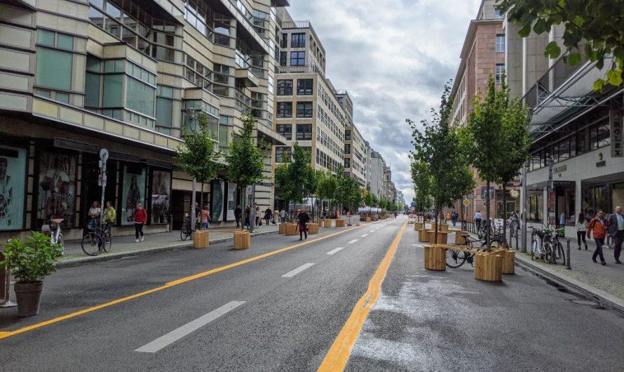 Projekt autofreie Friedrichstraße wird verlängert