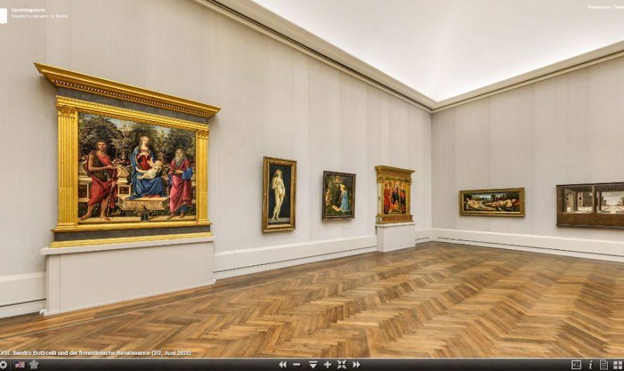 Virtueller Rundgang in der Gemäldegalerie