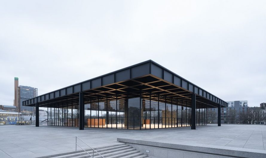 Neue Nationalgalerie öffnet seine Türen