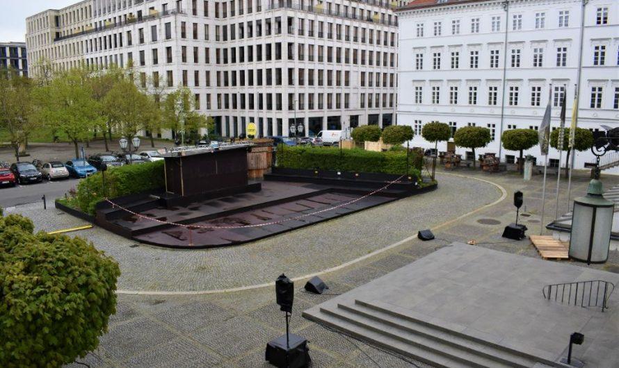 Open Air im Deutschen Theater