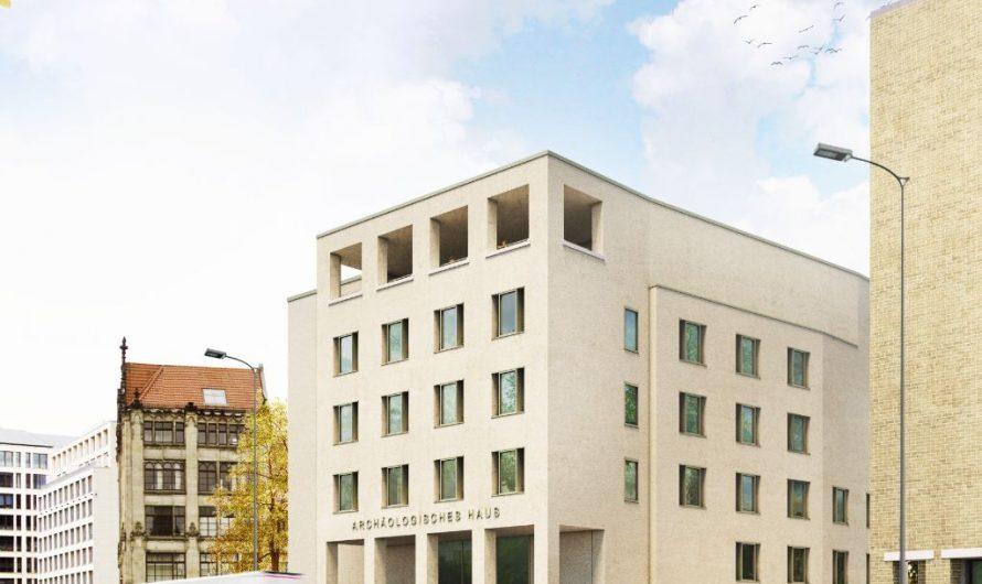 Richtfest für's Archäologische Haus am Petriplatz