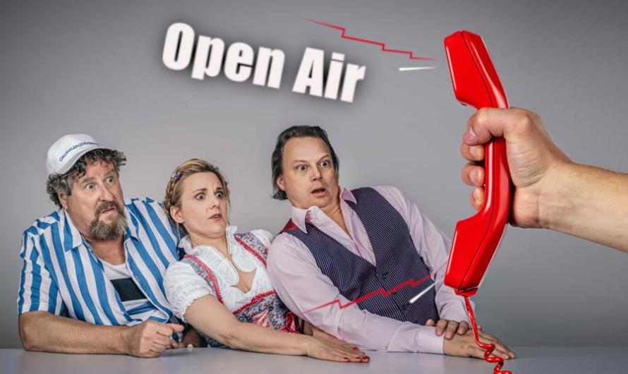 DISTEL-Kabarett spielt OPEN AIR