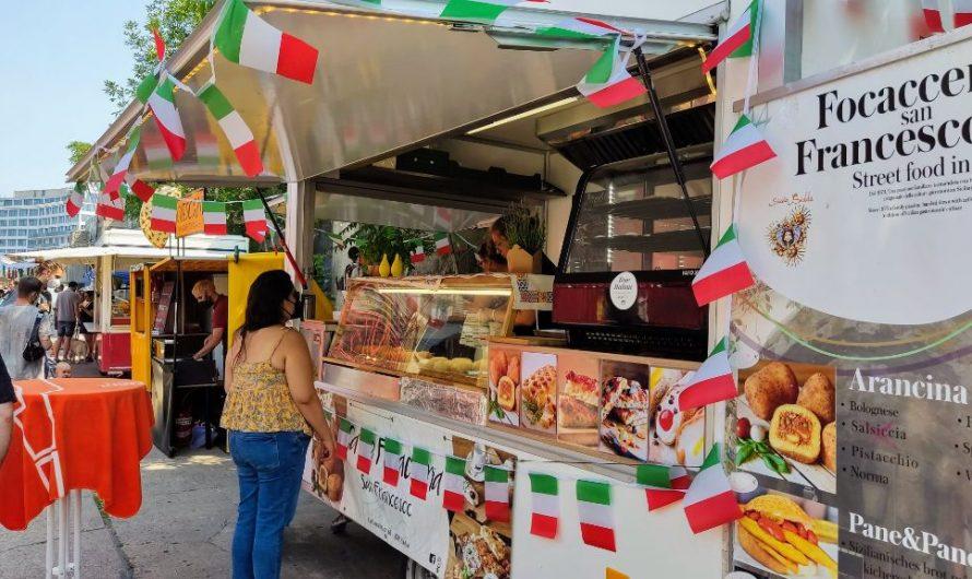 Italien Street Food Festival am Osthafen