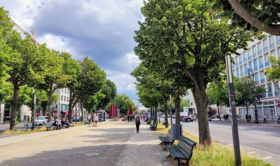 Unter den Linden wird Hauptstadt Boulevard