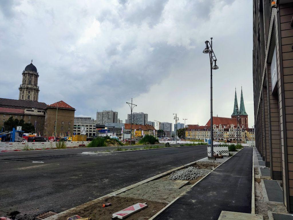 Der Molkenmarkt in der Mitte von Berlin wird umgestaltet.